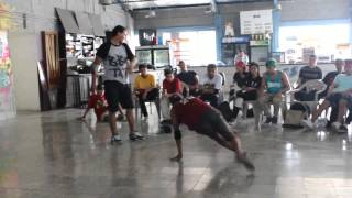 FILTRO HOLLY HIP HOP/ 1 VS 1 / BBOY FLINSTER  VS BBOY TATA