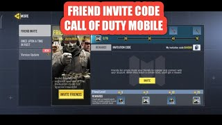 invitation code event how to use invitation code call of duty mobile