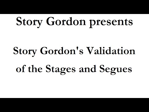Story Gordon's Validation of the Stages and Segues of Living