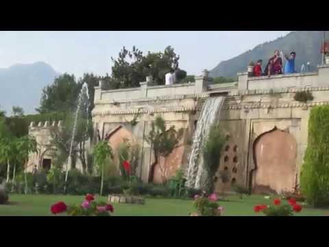 NISHAT GARDEN 2ND LARGEST MUGHAL GARDEN IN KASHMIR VALLEY AFTER SHALIMAR GARDEN SRINAGAR (J&K) INDIA
