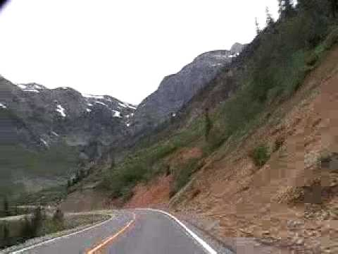 Million Dollar Highway - Ouray to Silverton, Colorado