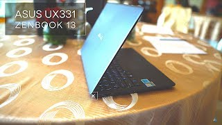 Asus ZenBook 13 UX331 Hands On & Initial Impressions