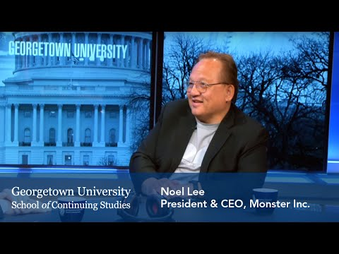 Noel Lee, President & CEO of Monster Inc., Speaks to Georgetown