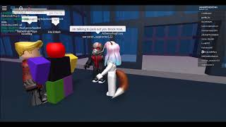 Mangle x Foxy in roblox