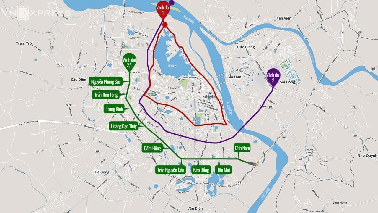 Mrt Map Hanoi Youtube