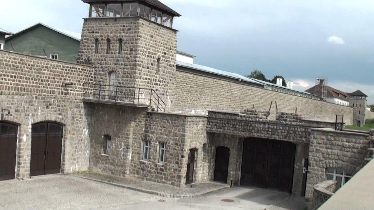 Mauthausen, Austria; 07/26/2015: Exterior View Of The