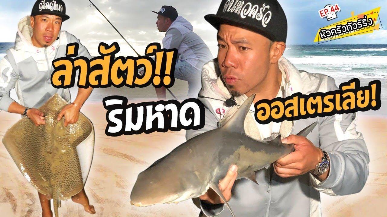 ออกล่าฉลาม ริมหาดออสเตรเลีย [หัวครัวทัวร์ริ่ง] EP.44