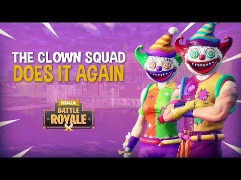 The Clown Squad Does It Again!! Fortnite Battle Royale Gameplay - Ninja thumbnail