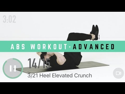 17Min Home Abs Workout - Advanced | Quick & Effective Workout for Sixpack | No Equipment