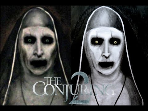 "Drawing ""Valak"" Or ""Nun""- The Conjuring 2 