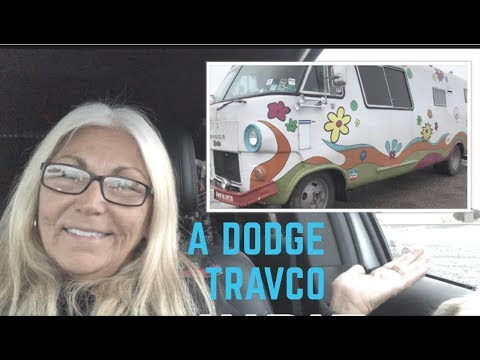 Crazy Comedy Truckers And A Dodge Travco