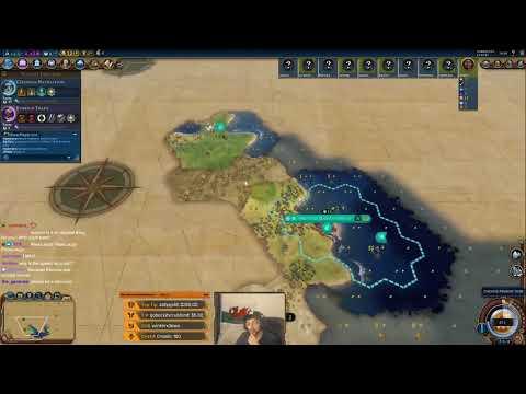 (God Spawn Maori) Civilization VI Competitive Multiplayer Ranked 10man Free for All
