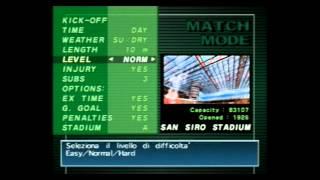 Gameplay: Winning eleven 5 1er Tiempo