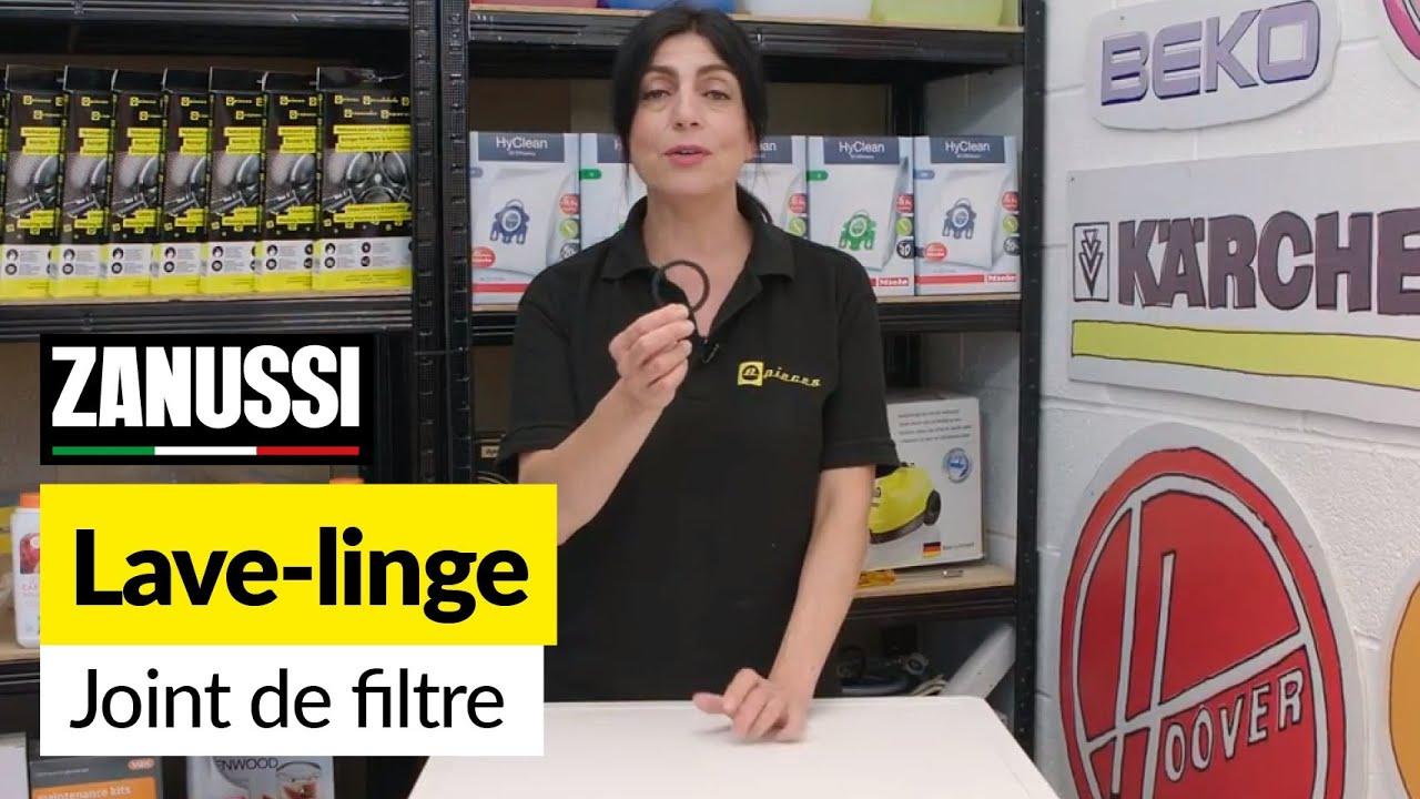 Comment Nettoyer Les Joints De La Machine À Laver comment remplacer le joint du filtre sur une machine à laver zanussi