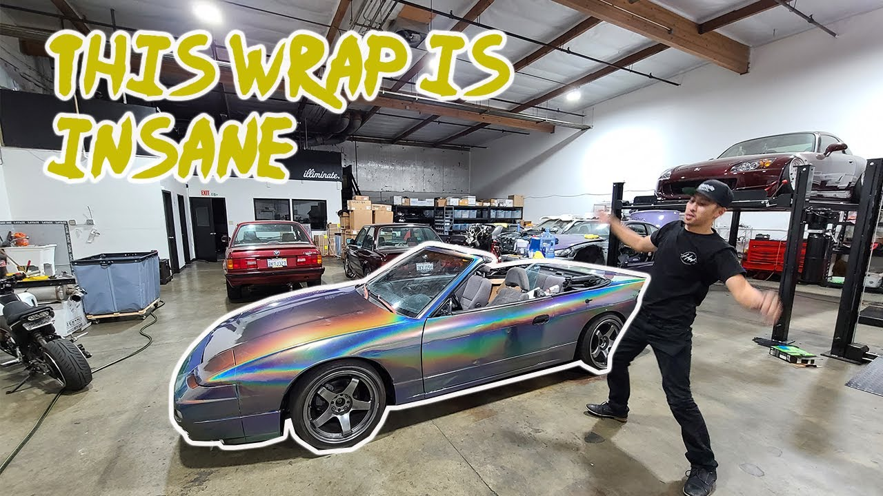 This wrap color is Insane