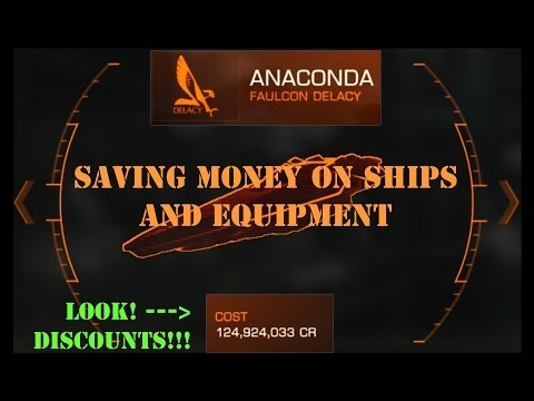 Elite Dangerous: Save Money On Ships And Equipment