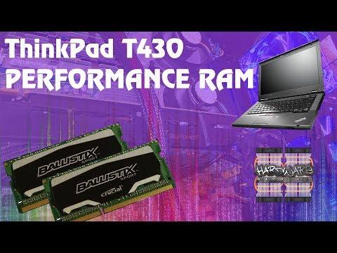 ThinkPad T430 - Performance Ram Upgrade