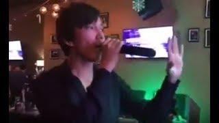 """Димаш спел """" Город, которого нет """" , трансляция музыки в Перископе, караоке , шикарный голос"""