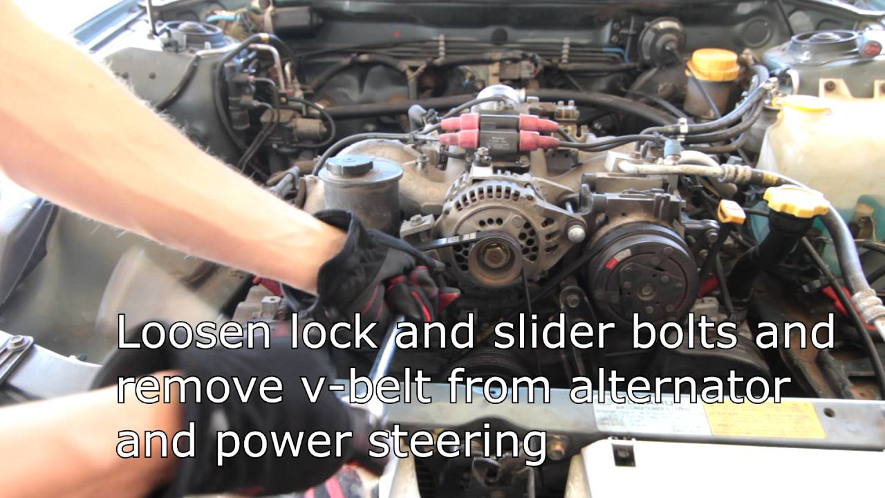 Subaru Ej22 Engine Legacy Archives Page 2 Of 5 Idiots New Wiring Harness Removal Youtube