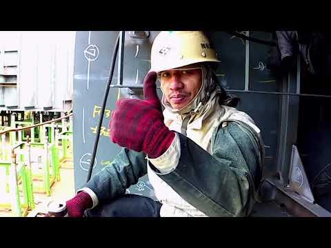 Workplace vlog#1|shipyard Welder in japan