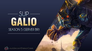 League of Legends -  Galio (Season 5: BR)