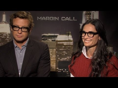 Demi Moore and Simon Baker Interview on 'Margin Call ...