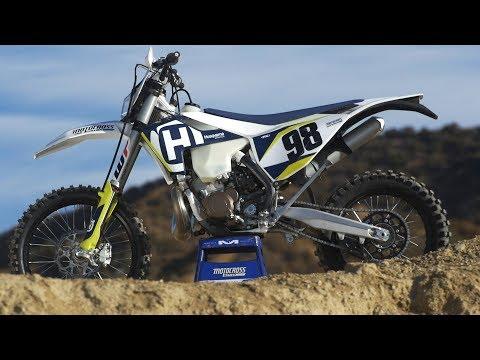 First Ride 2018 Husqvarna TE250i Fuel Injected 2 Stroke - Motocross Action Magazine