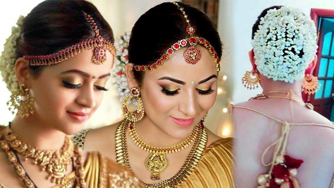 Actress Bhavana Inspired South Indian Bridal Look Affordable Drugstore