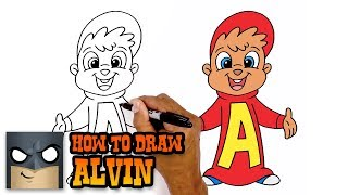 How to Draw Alvin | Alvin and the Chipmunks