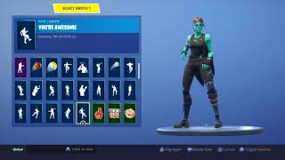 SEEING FORTNITE ACCOUNT (RARE SKINS)