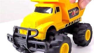 Coches y camiones - Grúa - Videos para niños - Juguetes de WALL-E