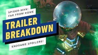 Spider-Man: Far From Home Trailer #2 Breakdown - Endgame References