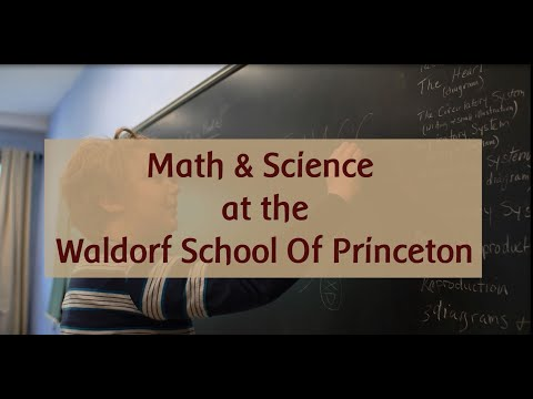 Math & Science at the Waldorf School of Princeton