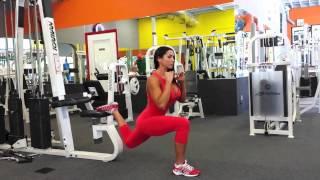 Приседание на одной ноге/ One leg squat
