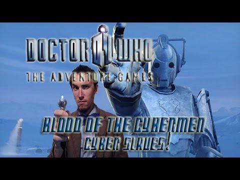 CYBER SLAVES! Doctor Who Adventure Games Part 2