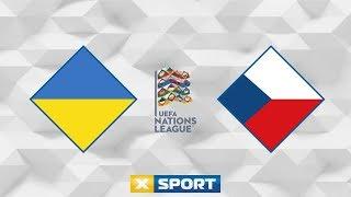 УКРАИНА - ЧЕХИЯ. Футбол 16.10.18  ЛИГА НАЦИЙ