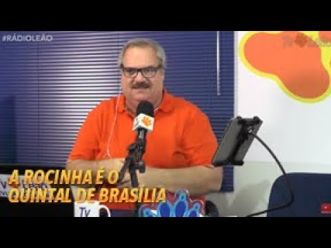 TV Leão - Rádio do Leão - A Rocinha é o quintal de Brasília!