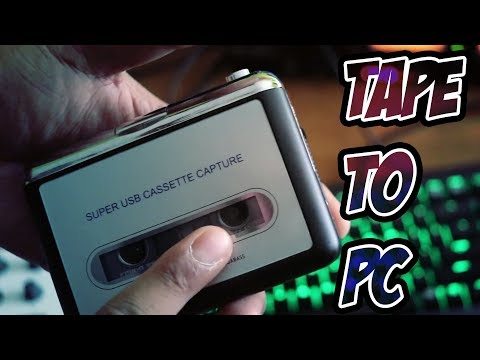 USB Cassette Tape! - Recording Tapes and Restorating The Sound