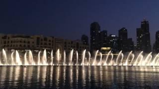 2016/11/06 18:00 Dubai Fountain - Sama Dubai