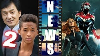 The Karate Kid 2 Jaden Smith & Jackie Chan, Black Widow & Captain Marvel Movie - Beyond The Trailer
