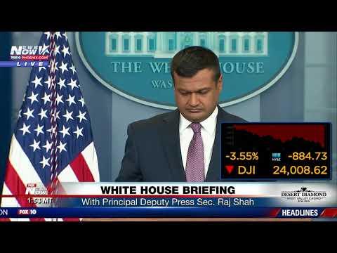 WATCH: White House Press Briefing with Raj Shah (FNN)