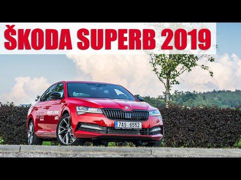 2019 Škoda Superb Sportline 2.0 TSI 200 kW, 4K POV TEST: Není to sporťák. A to je v pořádku.