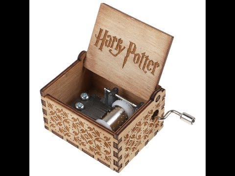 Melodia Harry Potter - Caja Musical en madera