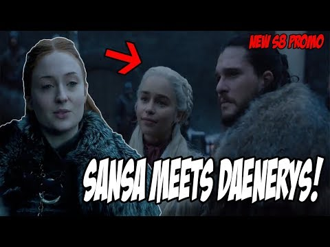 Sansa MEETS Daenerys PROMO! Game Of Thrones Season 8 (Teaser)