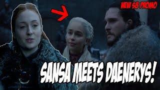 Sansa MEETS Daenerys PROMO! Game Of Thrones Season 8 (Teaser)