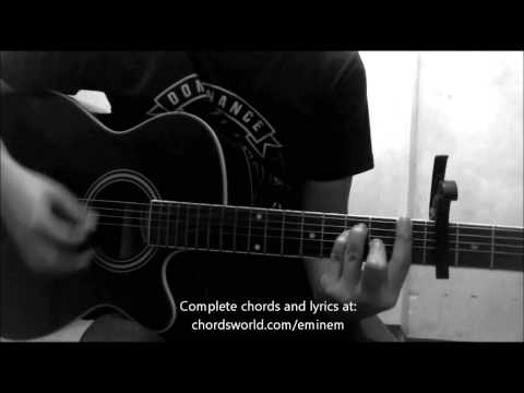 The Monster Chords by Eminem - How To Play - chordsworld.com