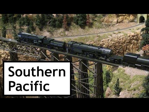 Southern Pacific at Colorado Model Railroad Museum's Old West Days