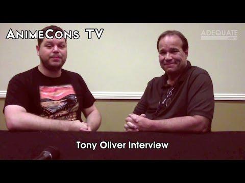 AnimeCons TV - Tony Oliver Interview