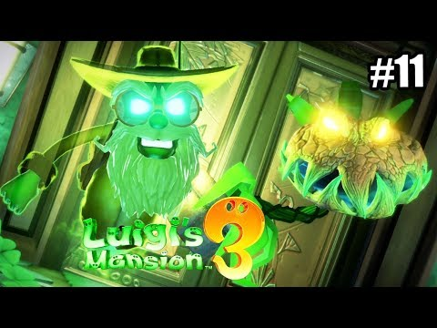 Luigi's Mansion 3 #11 — Босс Садовник {Switch} прохождение часть 11