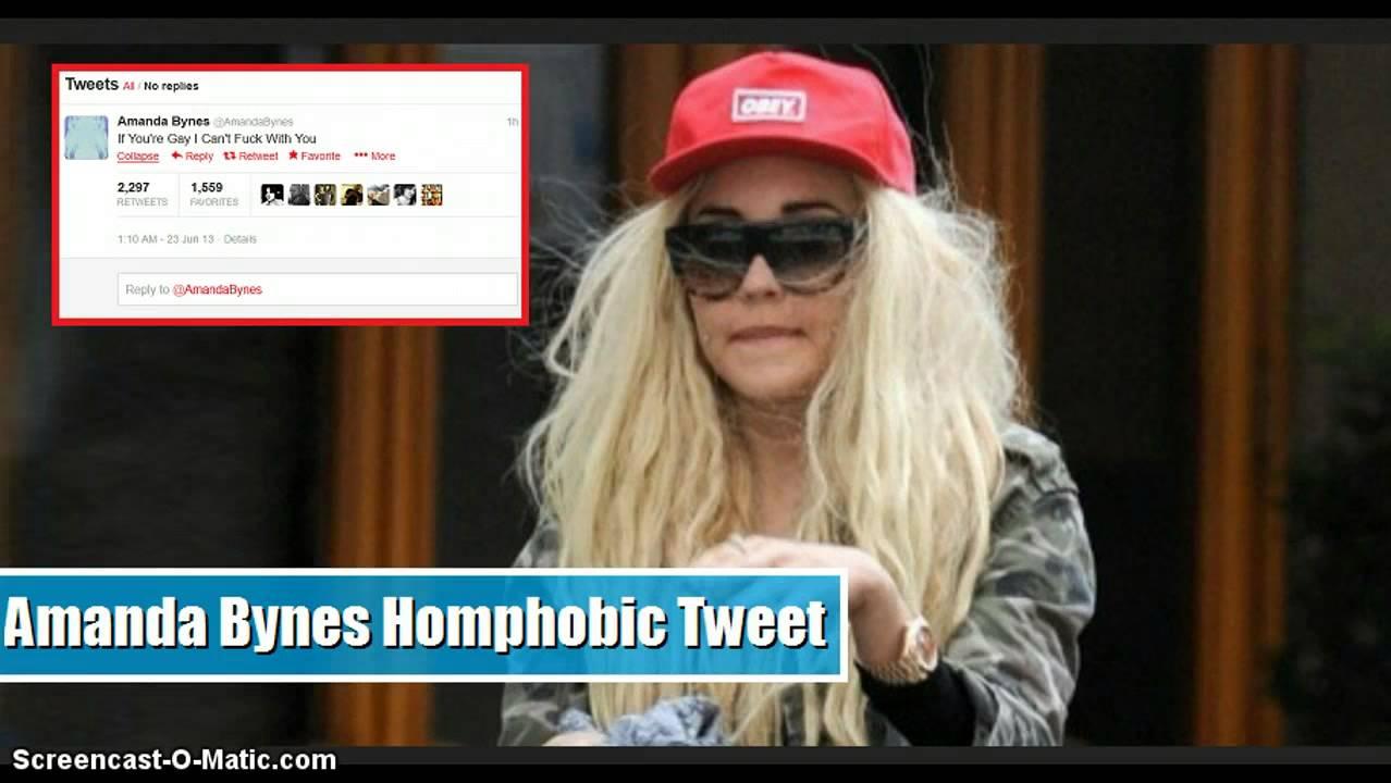 Amanda bynes gay